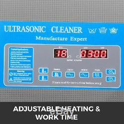 0.8/1.3/2/3/6/10/15/22/30/58/77/130 L Ultrasonic Cleaners Supplies Jewelry