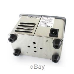 0.8L Professional Digital Ultrasonic Cleaner Tank Machine Timer Heated Cleaning