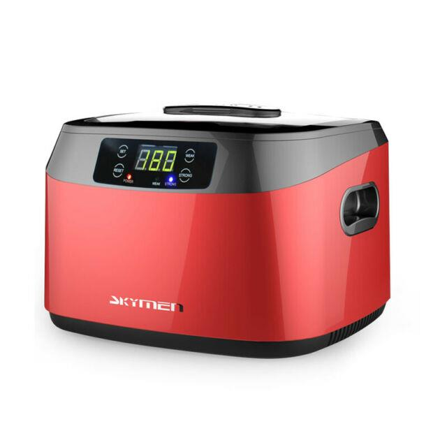 1.2l Ultrasonic Cleaner With Digital Timer Professional Polishing Jewelry