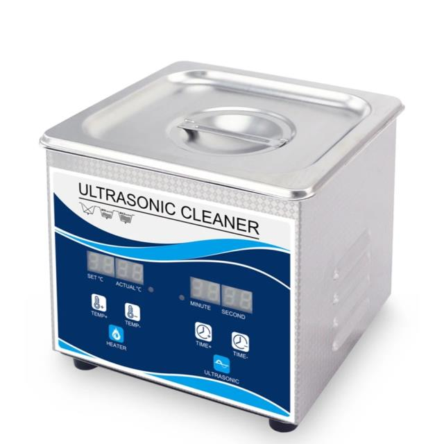 1.3l Digital Ultrasonic Cleaner Ultra Sonic Bath Heated Parts Jewelry Cleaning