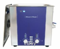 10L Business&Industrial Ultrasonic Cleaner Degas Sweep Stainless 320W Digital