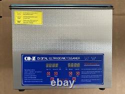 10L Ultrasonic Cleaner with Digital Timer & Heater, Professional Ultrasound Jewe