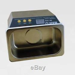 110V Digital Ultrasonic Cleaner Stainless Steel for Jeweler with Timer 35With50W