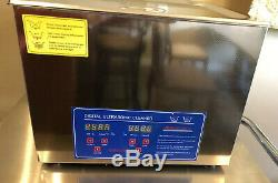 15L Jeken capacity Digital Ultrasonic Cleaner PS-60A Timer Heater Professional