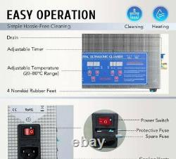 15L Professional Ultrasonic Cleaner with Timer Digital