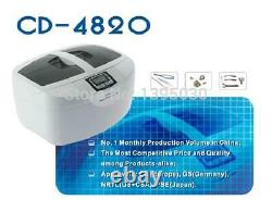 1PC 2.5L CD-4820 Stainless Steel Digital 42khz Frequency Water Heating Function