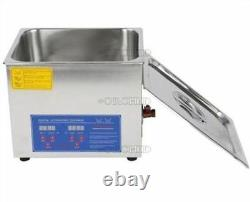 1PcNew Machine Stainless 1.3L Ultrasonic Cleaner Digital C