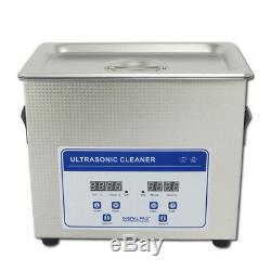2.0L Digital Ultrasonic Cleaner Machine with Timer Heated SUS Cleaning tank