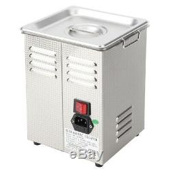 2/3.2L Industry Stainless Steel Digital Ultrasonic Cleaner Cleaning Timer Heater