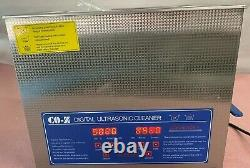 2/3l Digital Stainless Ultrasonic Cleaner Ultra Sonic Bath Tank Cleaning Machine