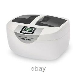 2.5L Commercial Timer Ultrasonic Cleaner For Denture Jewelry Safety Disinfection