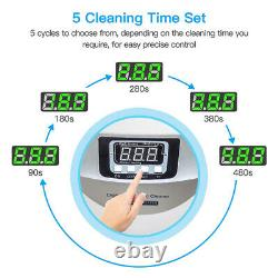2.5L Commercial Timer Ultrasonic Cleaner For Jewelry Vegetables Glasses Cleaning