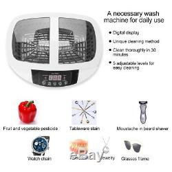 2.5L Digital Ultrasonic Cleaner Heater Stainless Ultra Sonic Cleaning Sterilizer
