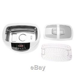 2.5L Digital Ultrasonic Cleaner Heater Timer Industrial Ultra Sonic Cleaning