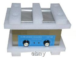 220V 4L Digital Ultrasonic Cleaner Dental Lab Jewelry with Heater Timing
