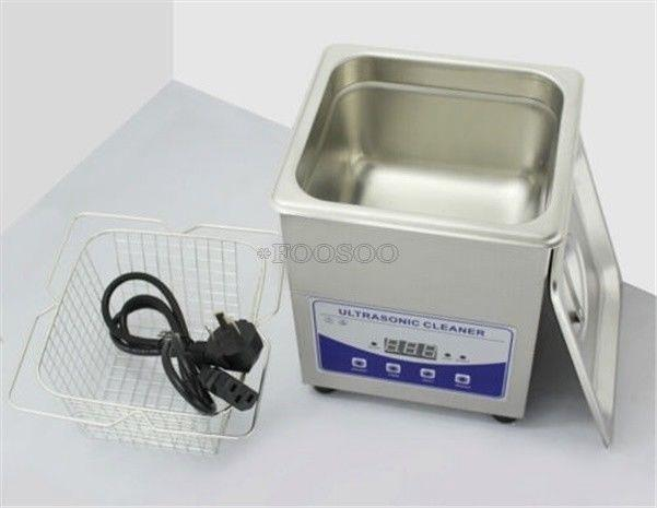 220v Dental Lab 2l Digital Ultrasonic Cleaner Jewelry Tools With Heater And