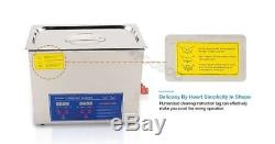 220V Dental Lab Digital Ultrasonic Cleaner 2L With Cleaning Basket For Jewelr si