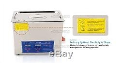 220V For Jewelry Dental Lab With Cleaning Basket 2L Digital Ultrasonic Cleaner B