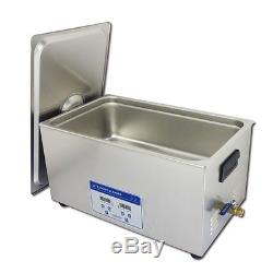 22L Professional Digital Ultrasonic Cleaner Machine with Timer Heated