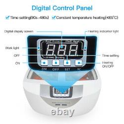 2500ml Household Commercial Timer Ultrasonic Cleaner For Jewelry Fruits Cleaning