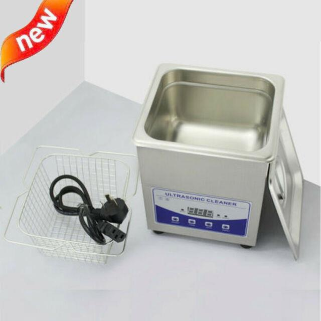 2l 110v Digital Ultrasonic Cleaner Dental Lab Jewelry With Heater And Degassing