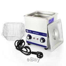 2L 80W Digital Stainless Steel Ultrasonic Cleaner Jewelry Cleaning Machine