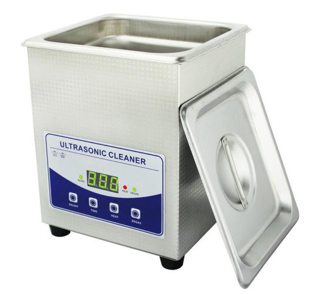 2l Digital Ultrasonic Cleaner Dental Lab Jewelry With Heater And Degassing 110v