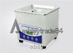 2L Digital Ultrasonic Cleaner Dental Lab jewelry with heater and Degas 220V