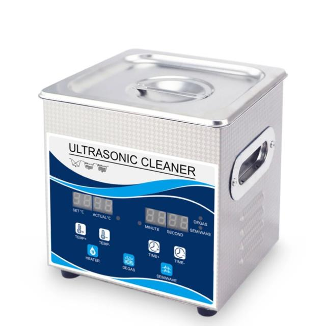 2l Digital Ultrasonic Cleaner Ultra Sonic Bath Heated Parts Jewelry Cleaning