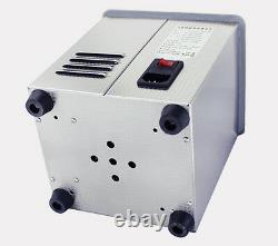 2L Digital Ultrasonic Cleaner for Dental Lab Jewelry with Heater & Degas 220V