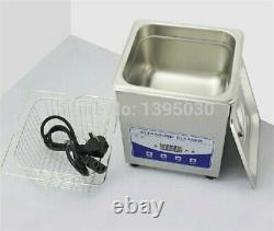 2L Digital Ultrasonic Machine Cleaner for Glasses Jewelry PCB Washing Cleaning