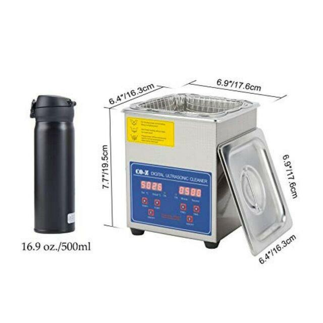 2l Professional Ultrasonic Cleaner For Dentures Watch With Digital Heate Cleaner