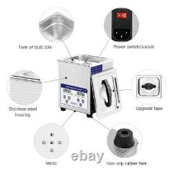 2L Professional Ultrasonic cleaner for Watch Jewelry with Digital Timer Cleaner