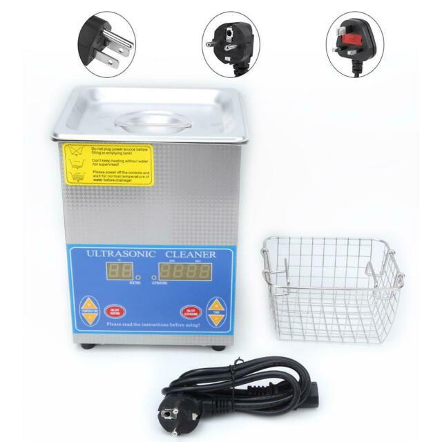 2l Stainless Steel Ultrasonic Cleaner Machine With Digital Led Timer Heater