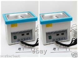 2pcs Dental Digital LCD Screen 5L Ultrasonic Cleaner Cleaning with Timer
