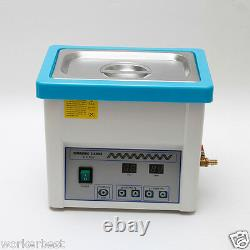 2pcs Dental Digital LCD Screen 5L Ultrasonic Cleaner Cleaning with Timer tU