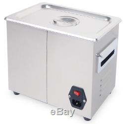 3.2L Digital Ultrasonic Cleaner Jewelry Ultra Sonic Bath Degas Parts Cleaning