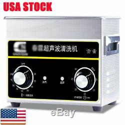 3.2L Sonic Digital Ultrasonic Cleaner Cleaning Bath Jewelry Heater Necklace