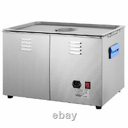 30L Digital Ultrasonic Cleaner with Heater 28/40KHz Large Cavitation Water Drain