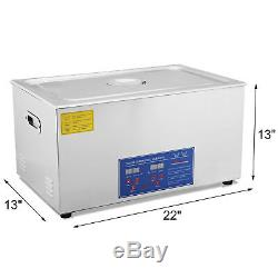 30l 30 L Ultrasonic Cleaner Cleaning Brushed Tank Digital Control 1400w Heated