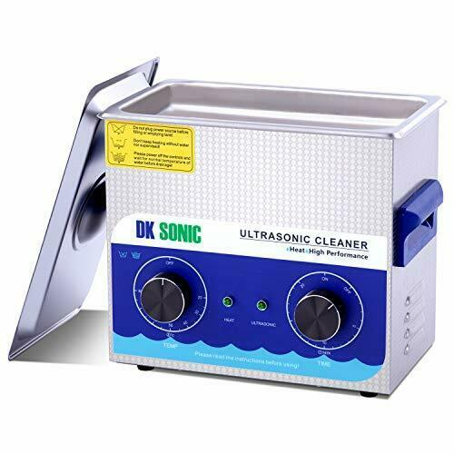 3l Commercial Digital Ultrasonic Cleaner Jewellery Coins Cleaning 40khz
