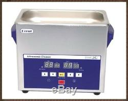 3L Digital Touch Control Timer Heated Ultrasonic Cleaner For False Teeth