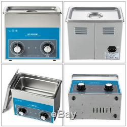 3L Digital Ultrasonic Cleaner Stainless Tank Heater Timer Industrial Cleaning AU