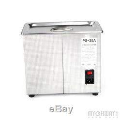 3L Stainless Steel Digital Industrial Heated Ultrasonic Cleaner Tank with Timer