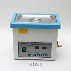 5 Litre Digital Ultrasonic Cleaner Dental Handpiece Cleaning Device Equipment US