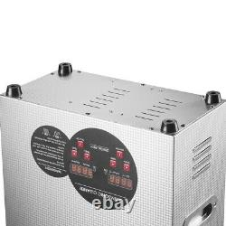 6L Ultrasonic Cleaner Stainless Steel Industry Heated Heater with Digital Timer