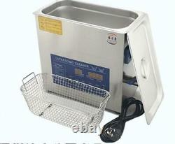 6L dual double frequency 28khz 40Khz digital ultrasonic cleaner cleaning machine