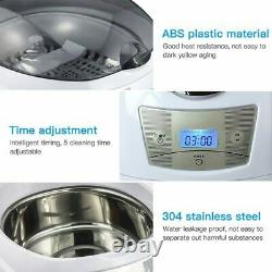 750mL Ultrasonic Digital Ultrasound Cleaner For Glasses Toothbrush Jewelry Part