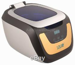750ml CE-5700A Digital Ultrasonic Cleaner For Glasses jewelry Disk(CD, VCD, DVD)