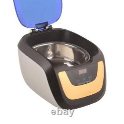 750ml Digital Ultrasonic Cleaner Touch Panel Household Cleaning Machine CE-5700A